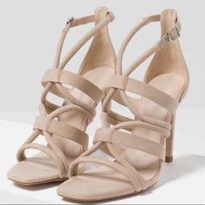 Zara Shoes - Zara strap nude heels New with tags